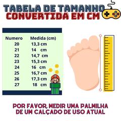 Kit 2 Pares Sandália e Tênis Masculino Infantil 11339-jm1839