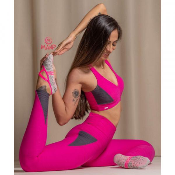 KIT 4 Pares Sapatilha Pilates Yoga Hidro Antiderrapante Feminina