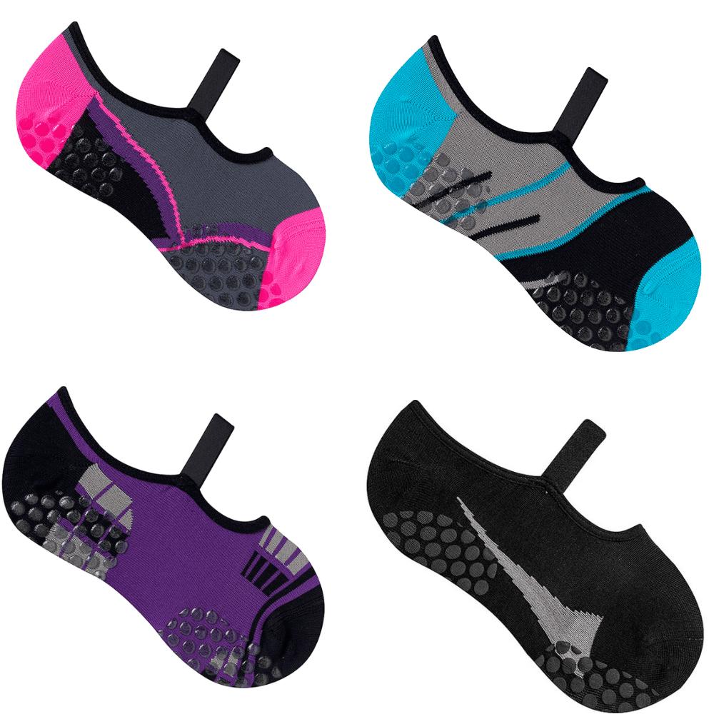 73b96f131 Kit 5 Par Sapatilha Pilates Antiderrapante Feminina Atacado - MANP Calçados  e Acessórios