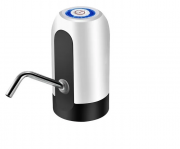 Bomba Elétrica Para Galão Água Recarregável Branco