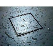 Ralo Invisível Quadrado Em Inox Tamanho 10x10