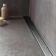 Ralo Linear Inox Invisivel Oculto Retangular 80 Cm (Não é PVC)