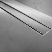Ralo Linear Inox Tampa Oculta Invisível 100cm (Não é PVC)