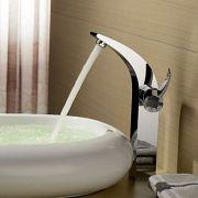Torneira Bica Alta Banheiro Lavabo Monocomando Florença
