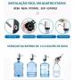 Bomba Elétrica Para Galão Água Recarregável Preto