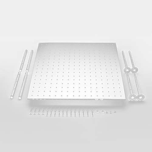 Ducha de Teto Quadrada Square - 50cm X 5Ocm