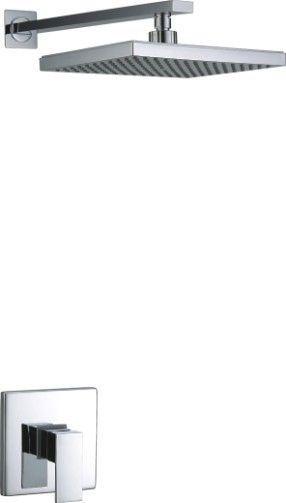 Kit Amsterdam LED - Ducha com Led, Braço Lateral e Mist. Monocomando