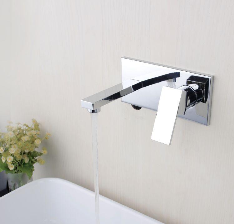 Torneira Parede Banheiro Lavabo Monocomando London