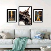 Conjunto de Quadros Decorativos Com Imagens de Cidades