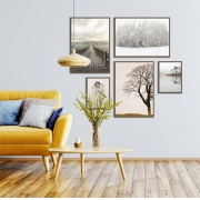 Kit de Quadros Decorativos Fotografias Decor Living