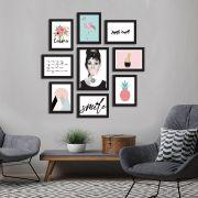 Kit de Quadros Decorativos Minimalista