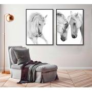 Kit de Quadros Decorativos Nature Horse