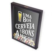 Porta Tampinhas Cerveja | Com Bons Amigos