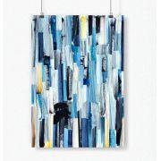 Poster Abstrato Azul