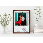 Quadro Decorativo Amor - Para Sempre Juntos