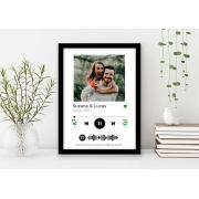 Quadro Decorativo Amor - Foto Casal Plataforma de Música