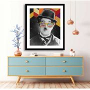 Quadro decorativo Charles Chaplin