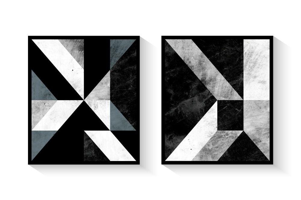 Kit de Quadros Geométricos