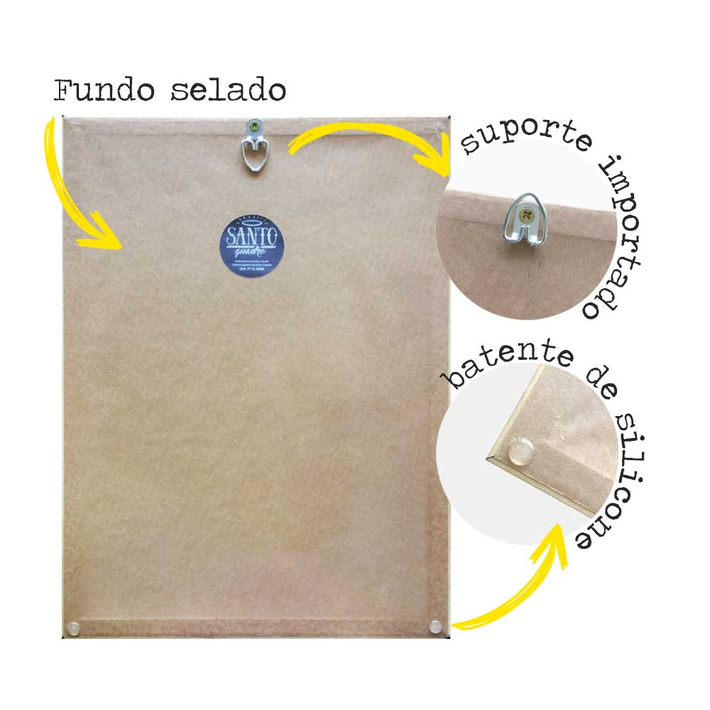 Kit de Quadros Mapa Mundi Aquarela