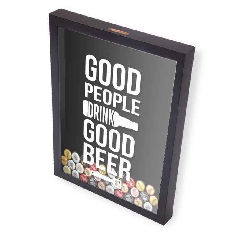 Porta Tampinhas Cerveja | Good People Good Drink