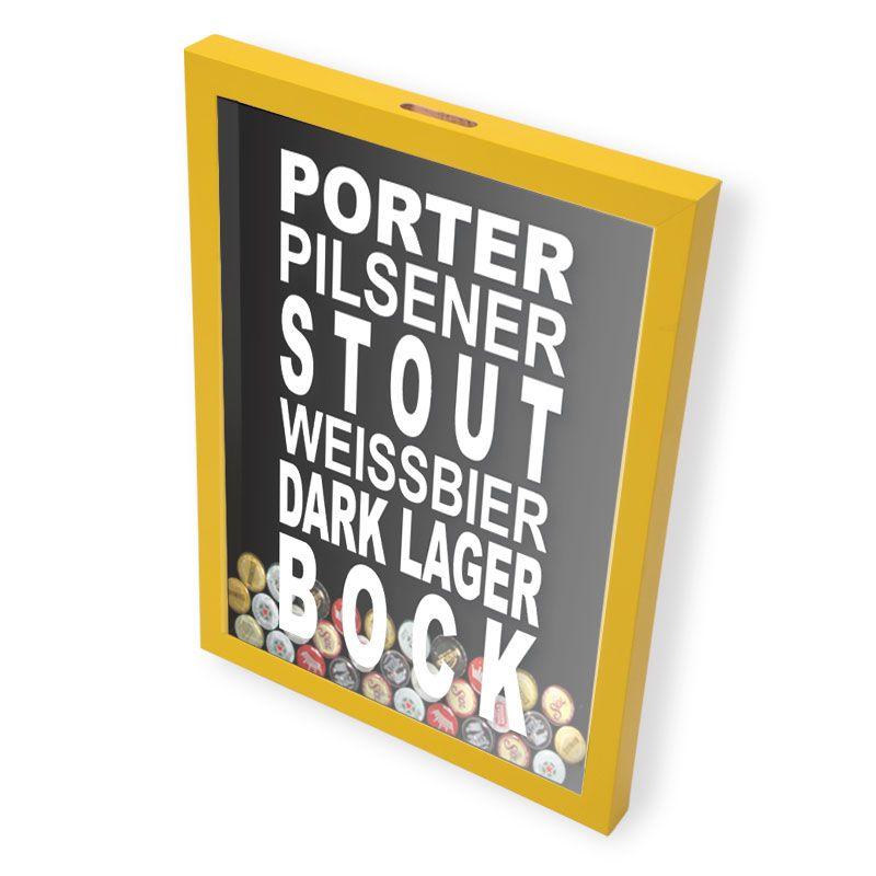 Porta Tampinhas Cerveja | Diversos Modelos de suas Favoritas