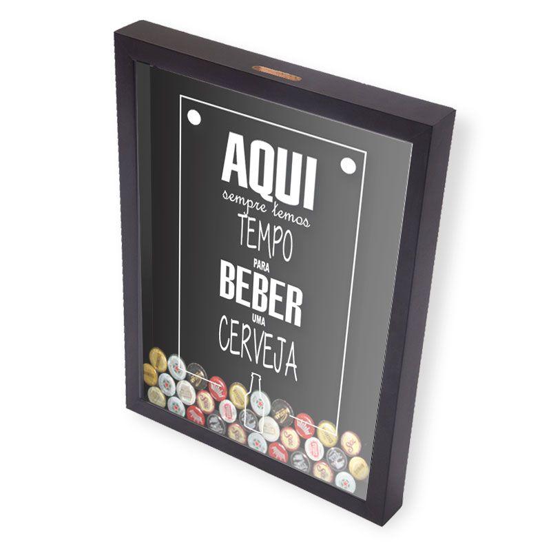 Porta Tampinhas Cerveja | Aqui Sempre Temos Tempo