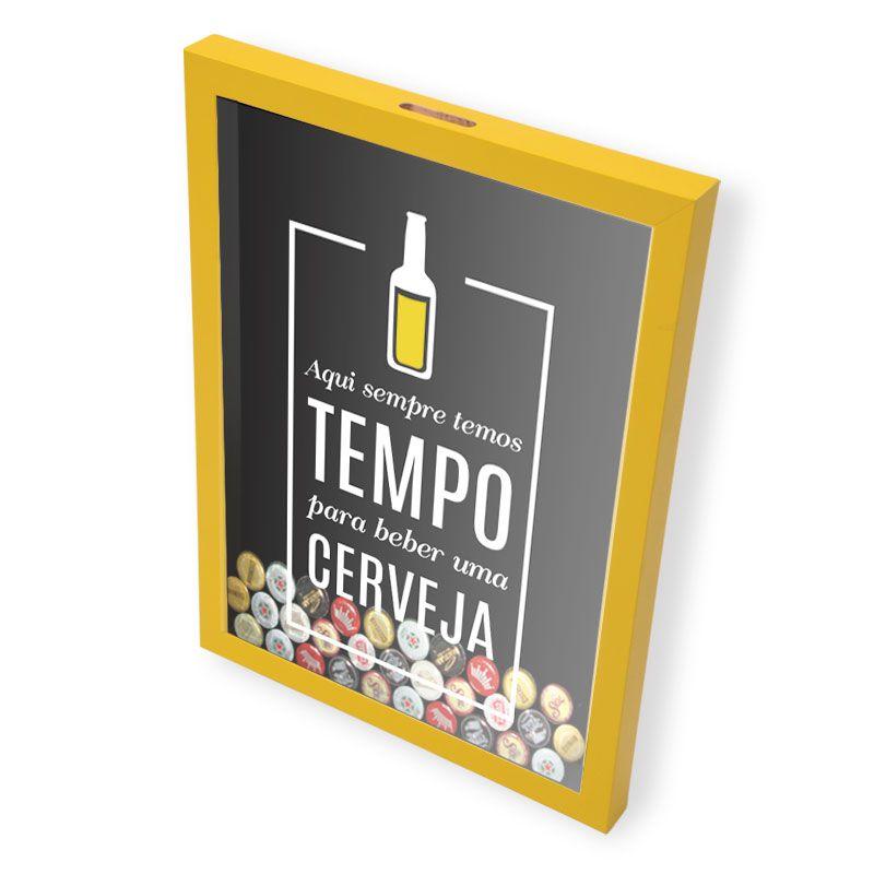 Porta Tampinhas Cerveja | Sempre Temos Tempo Para Curtir