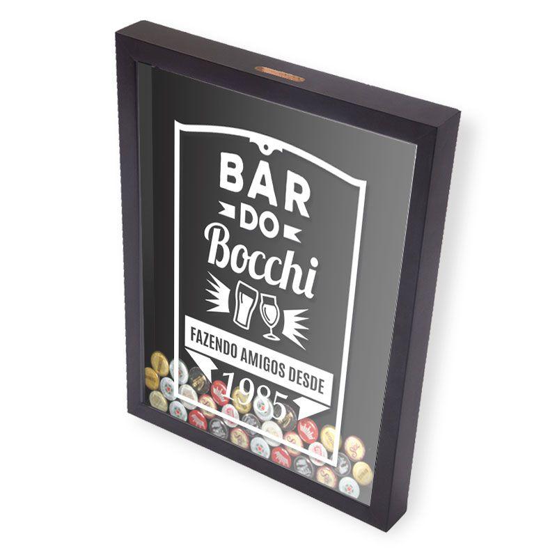 Porta Tampinhas Cerveja | Personalize com o Nome de Seus Amigos