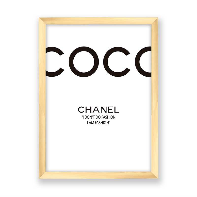 Quadro Coco Chanel