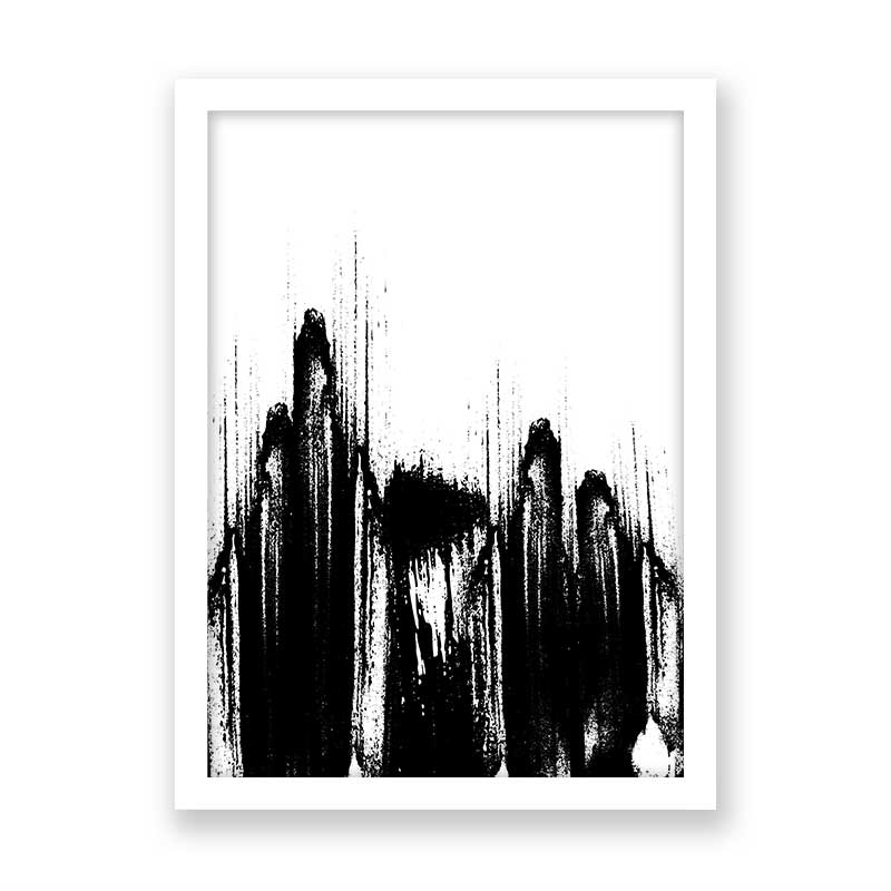 Quadro decorativo Abstrato Black