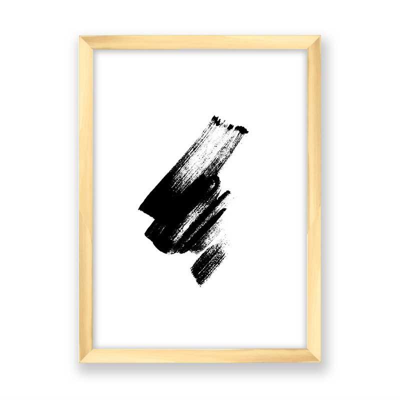 Quadro decorativo Abstrato Pincelada