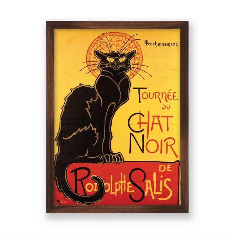 Quadro decorativo Chat Noir