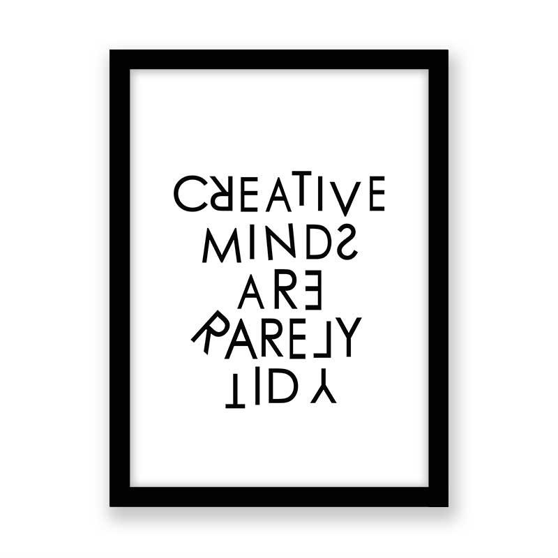 Quadro decorativo Com Frase Creative