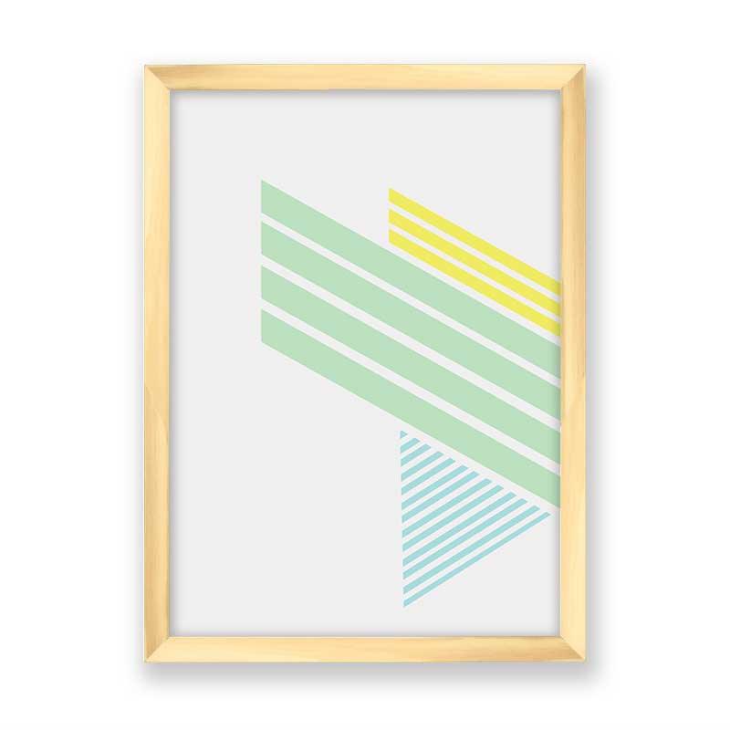 Quadro decorativo Geométrico