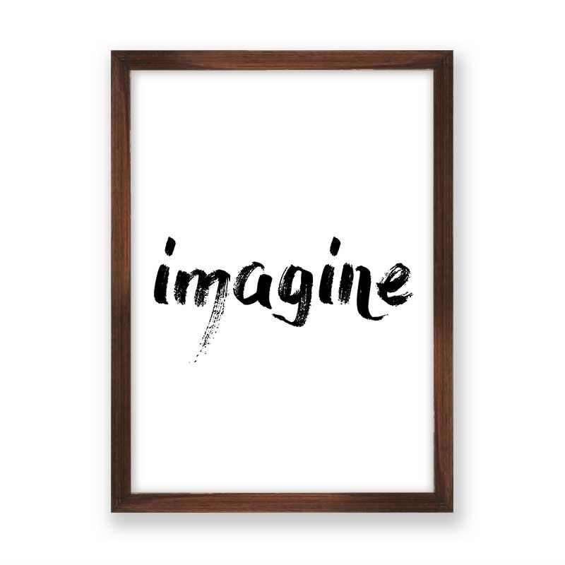 Quadro decorativo Imagine