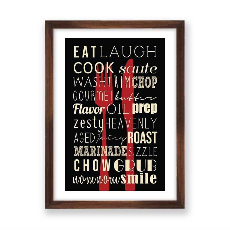 Quadro decorativo Para Cozinha e Area Gourmet 2