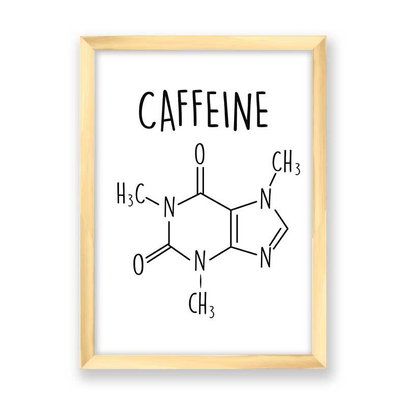 Quadro Fórmula Café (Fundo Branco)