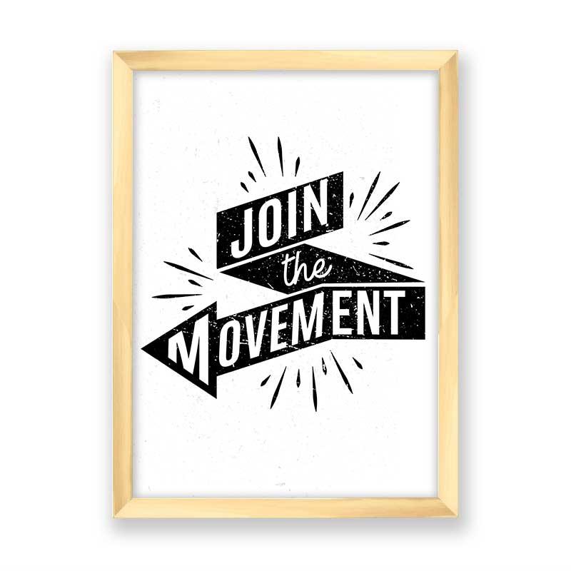 Quadro Join The Movement