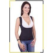 Camiseta Modeladora Térmica Feminina - T-Shirt NeoFire