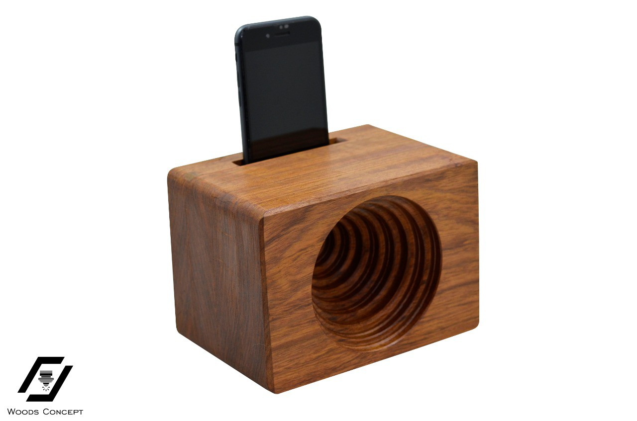 Amplificador para Celular - Caixa de som - Woods concept