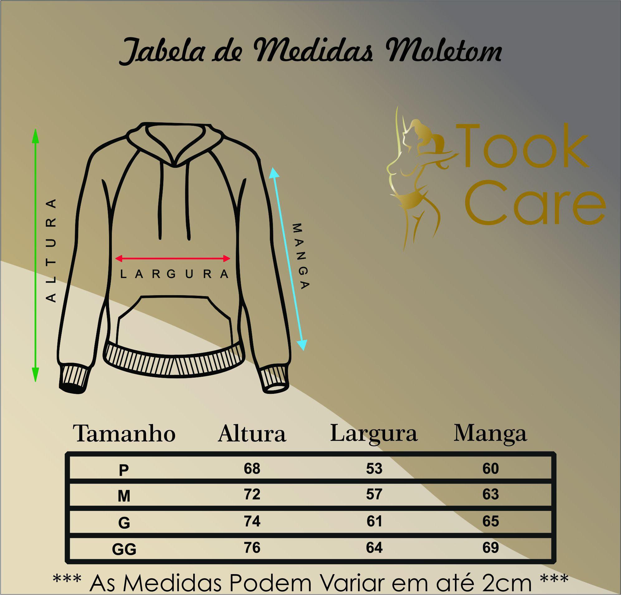 Blusa de Frio Moletom com Capuz Canguru - Glamour