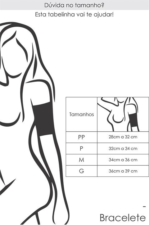 Bracelete Modelador Térmico - Cinta para Braço