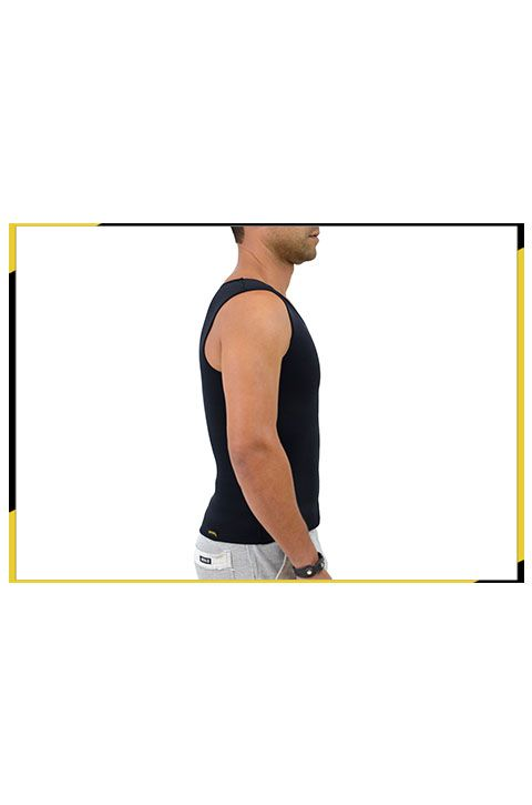 Camiseta Modeladora Térmica Masculina - T-Shirt NeoFire