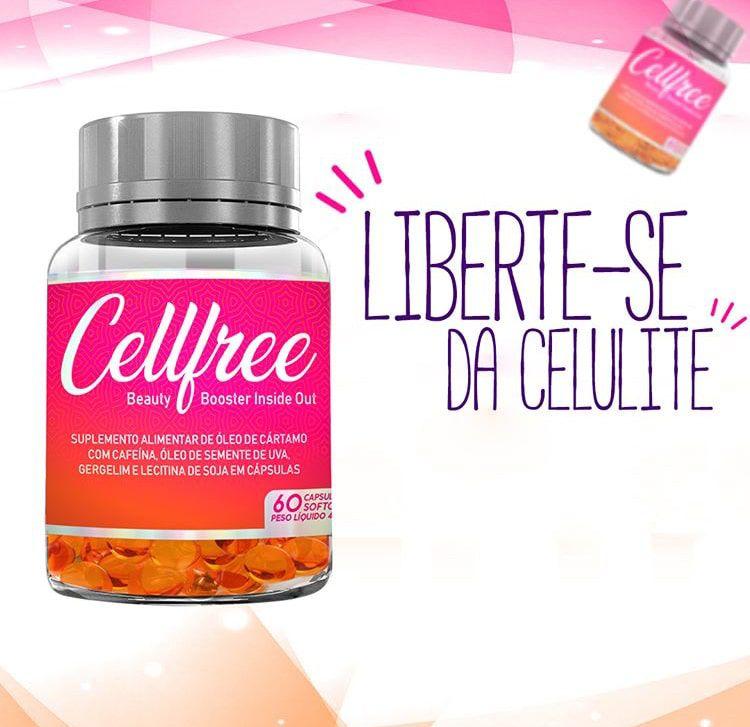 CellFree - Tratamento para Celulite - 60 Capsulas