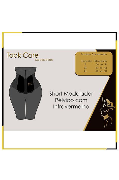 Combo Took Neo (térmica) + Short (infravermelho) + Gel Lipo Redutor + Bracelete termico