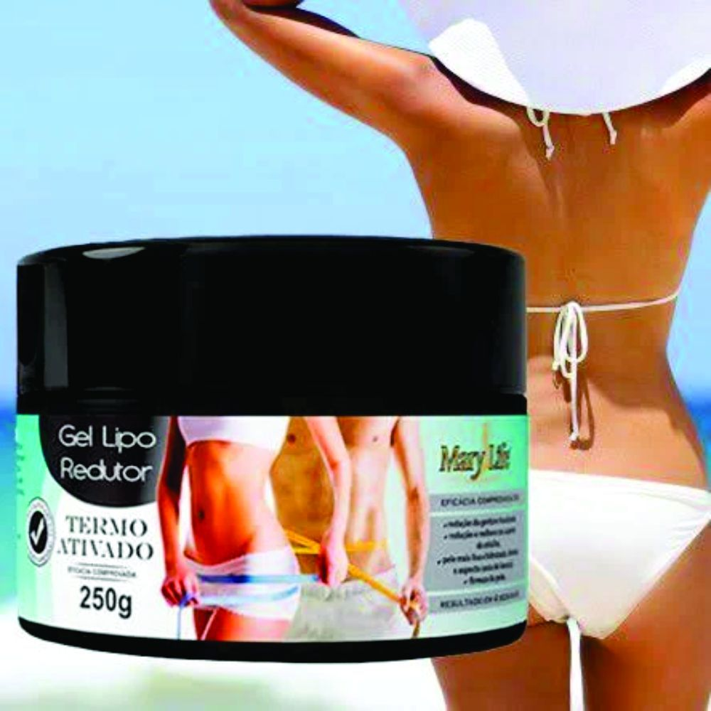 Gel Lipo Redutor - Mary Life