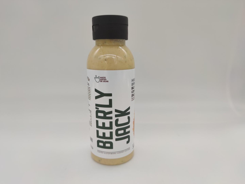 BEER'LY JACK - Molho Especial de Maionese com Relish de Pepino e Cerveja IPA 300ml