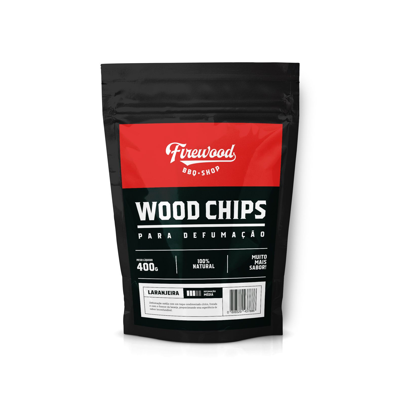 Defumador Inox + Wood Chip Macieira