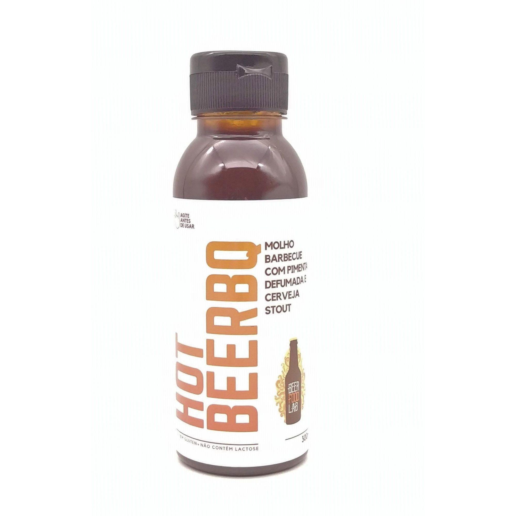 HOT BEERBQ - Molho Barbecue com Pimenta Defumada e Cerveja Stout