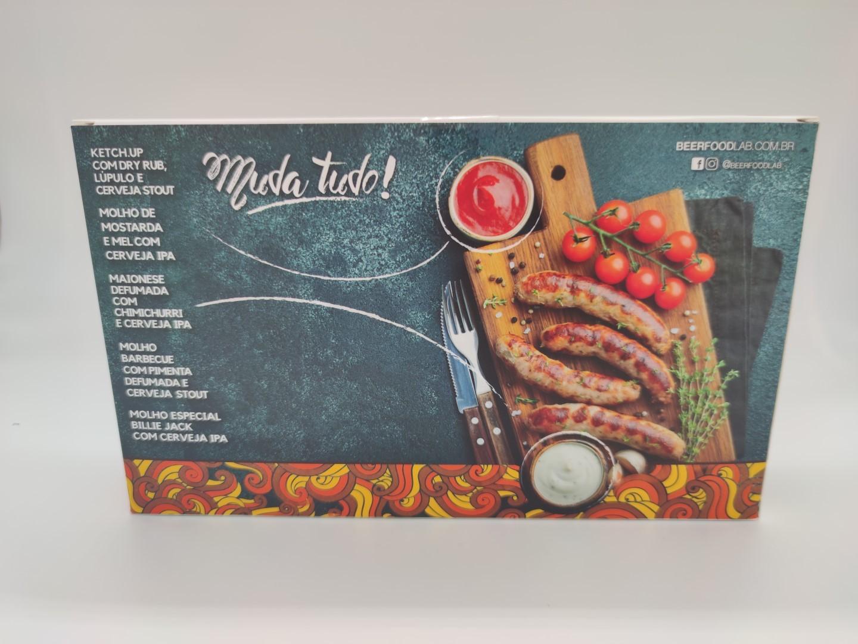 KIT MOLHOS BEER FOOD LAB - 180ML
